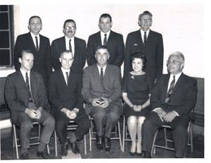 Warrenville's first City Council
